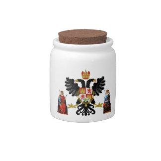 Escudo de armas de Toledo (España) Jarra Para Caramelo