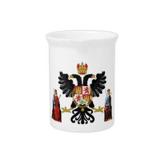 Escudo de armas de Toledo (España) Jarra Para Bebida