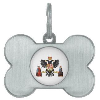 Escudo de armas de Toledo (España) Placa De Mascota