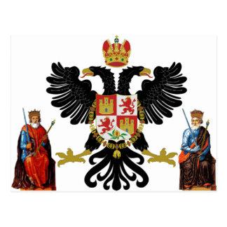 Escudo de armas de Toledo (España) Tarjeta Postal