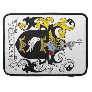 Escudo de armas de Tolman Fundas Macbook Pro