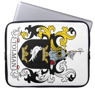 Escudo de armas de Tolman Mangas Portátiles