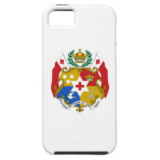 Escudo de armas de Tonga iPhone 5 Case-Mate Cobertura