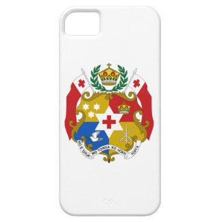 Escudo de armas de Tonga iPhone 5 Protectores