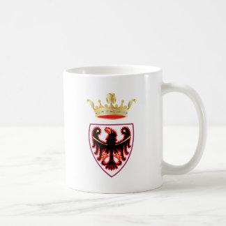 Escudo de armas de Trentino (Italia) Taza