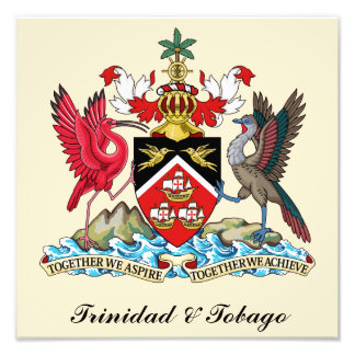 Escudo de armas de Trinidad and Tobago Fotografías