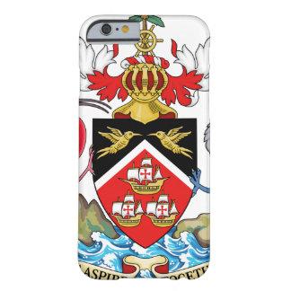 Escudo de armas de Trinidad and Tobago Funda Para iPhone 6 Barely There