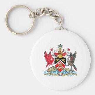 Escudo de armas de Trinidad and Tobago Llaveros Personalizados