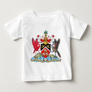 Escudo de armas de Trinidad and Tobago Playera De Bebé
