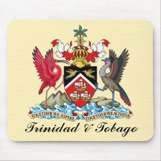 Escudo de armas de Trinidad and Tobago Tapetes De Ratones