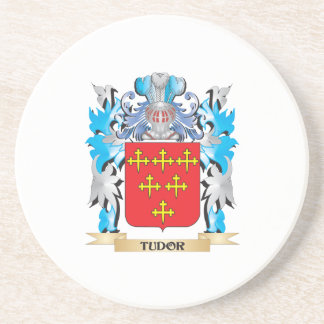 Escudo de armas de Tudor - escudo de la familia Posavasos Personalizados
