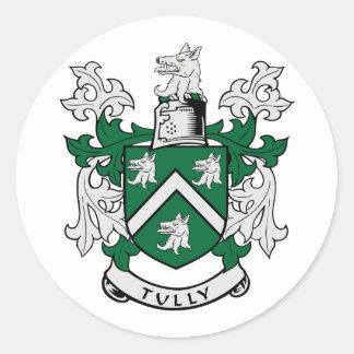 Escudo de armas de TULLY Pegatina Redonda