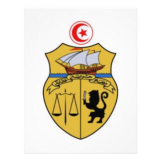Escudo de armas de Túnez Membrete A Diseño