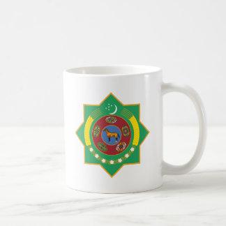 Escudo de armas de Turkmenistán Taza De Café