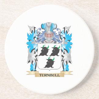 Escudo de armas de Turnbull - escudo de la familia Posavasos Personalizados