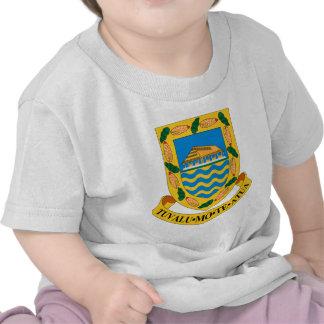 Escudo de armas de Tuvalu Camiseta