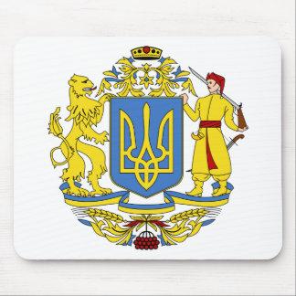 Escudo de armas de Ucrania Alfombrilla De Ratones