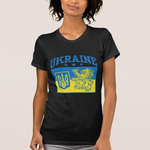 Escudo de armas de Ucrania Camiseta