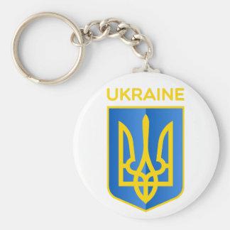 Escudo de armas de Ucrania Llaveros Personalizados