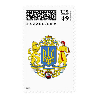 Escudo de armas de Ucrania Franqueo