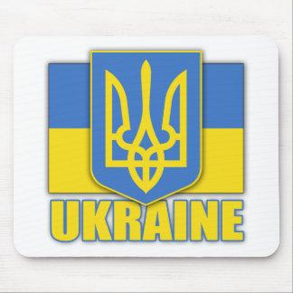 Escudo de armas de Ucrania Tapete De Ratón