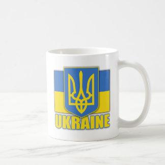 Escudo de armas de Ucrania Taza