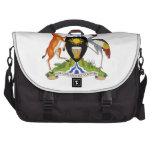 Escudo de armas de Uganda Bolsas Para Ordenador