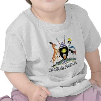 Escudo de armas de Uganda Camiseta