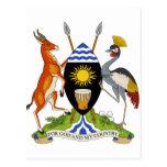 Escudo de armas de Uganda Postal