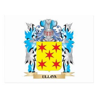 Escudo de armas de Ulloa - escudo de la familia Postales
