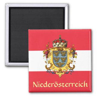 Escudo de armas de una Austria más baja Imán Cuadrado