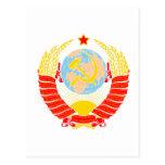 Escudo de armas de Unión Soviética Postal