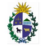 Escudo de armas de Uruguay Postal