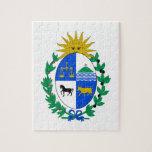 Escudo de armas de Uruguay Puzzles