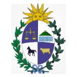 Escudo de armas de Uruguay Tarjeton