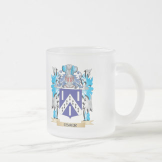 Escudo de armas de Usher - escudo de la familia Taza De Cristal