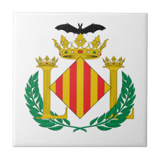 Escudo de armas de Valencia (España) Tejas Ceramicas