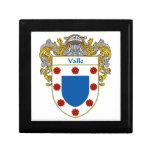 Escudo de armas de Valle/escudo de la familia Caja De Recuerdo
