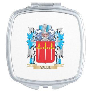 Escudo de armas de Valle - escudo de la familia Espejo Para El Bolso