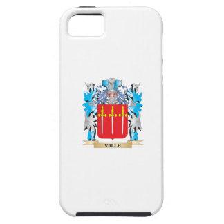 Escudo de armas de Valle - escudo de la familia iPhone 5 Case-Mate Protectores
