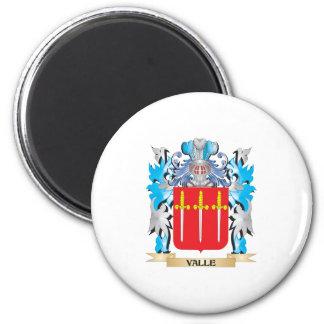 Escudo de armas de Valle - escudo de la familia Imán
