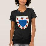 Escudo de armas de Valle/escudo de la familia Camisetas