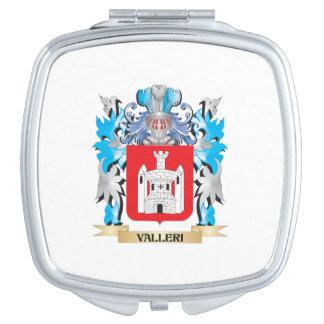 Escudo de armas de Valleri - escudo de la familia Espejo Maquillaje
