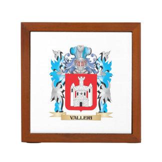Escudo de armas de Valleri - escudo de la familia Organizador De Escritorio