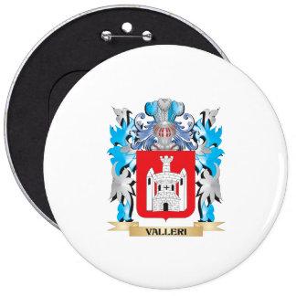 Escudo de armas de Valleri - escudo de la familia Pin Redondo 15 Cm