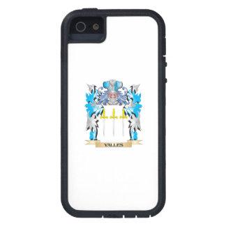 Escudo de armas de Valles - escudo de la familia iPhone 5 Carcasas