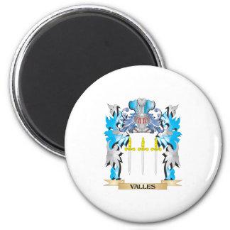 Escudo de armas de Valles - escudo de la familia Iman De Nevera