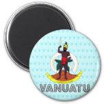 Escudo de armas de Vanuatu Imanes De Nevera