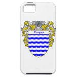 Escudo de armas de Vargas/escudo de la familia iPhone 5 Case-Mate Coberturas