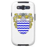 Escudo de armas de Vargas/escudo de la familia Samsung Galaxy S3 Coberturas